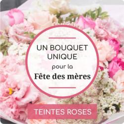 BOUQUET DU FLEURISTE ROSE...