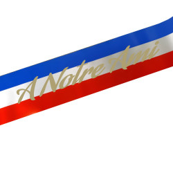 TN RED BLUE WHITE RIBBON