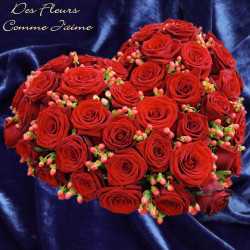 HEART FUNERAL FLOWERS PRESTIGE