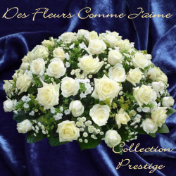 PRESTIGE FUNERAL CUSHION OF ROSES