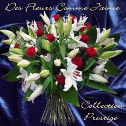 PRESTIGE SYMPATHY FLOWERS BOUQUET