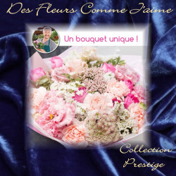PRESTIGE FLORIST BOUQUET - PINK FLOWERS
