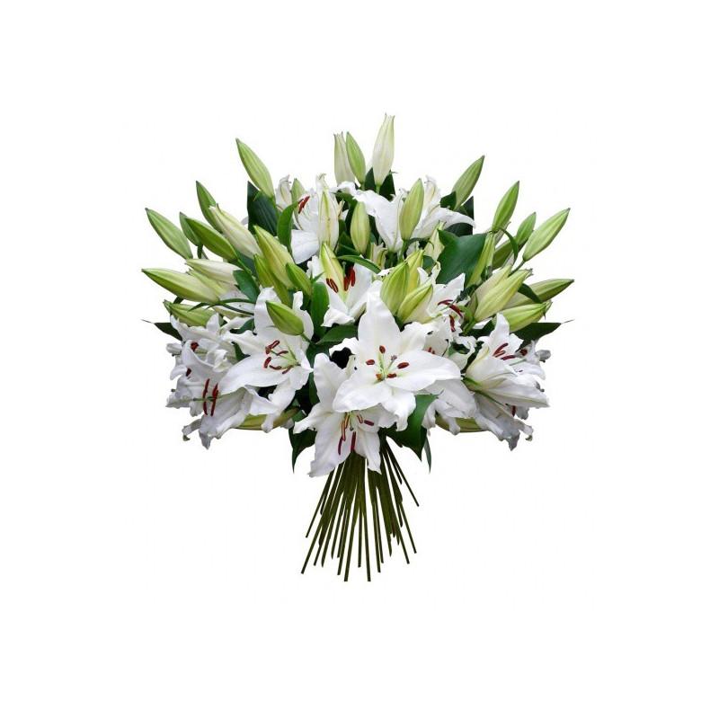 FLOWERS BOUQUET TENDRES LYS
