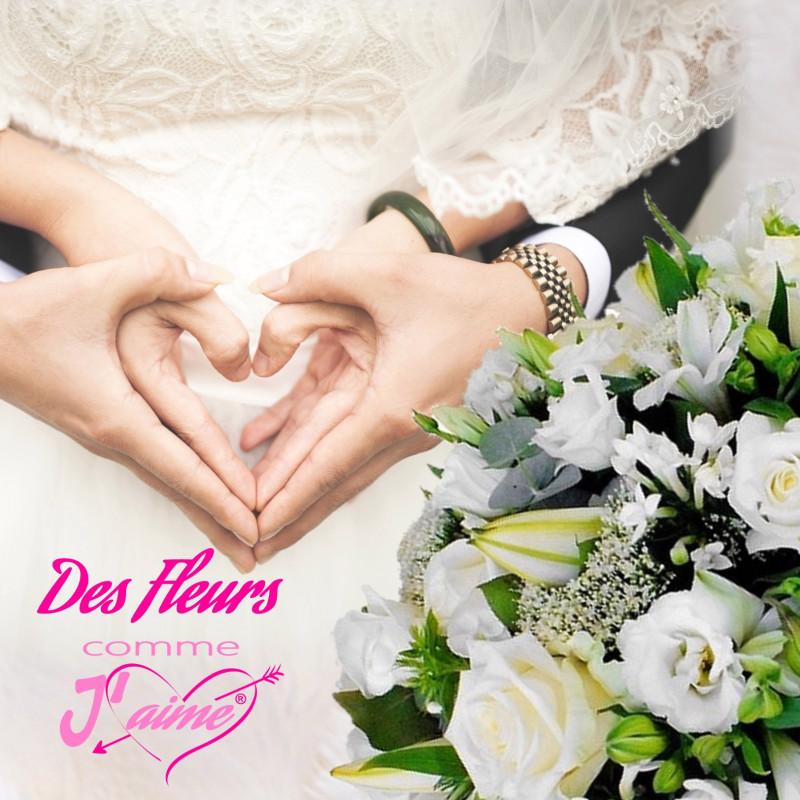FLEURS MARIAGE - LIVRAISON FLEURS MARIAGE - ENVOI FLEURS MARIAGE - FAIRE LIVRER DES FLEURS MARIAGE