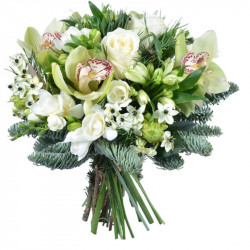 BOUQUET FOR CHRISTMAS - FLOWER OF FROZEN