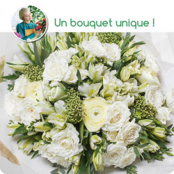 FLORIST BOUQUET - WHITE...