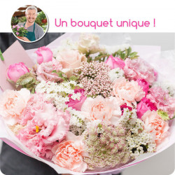 FLORIST BOUQUET - PINK FLOWERS