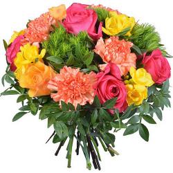 FLOWERS BOUQUET TUTTI FRUTTI