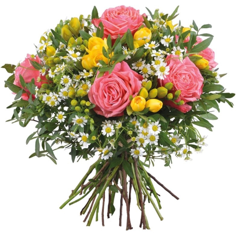 FLOWERS BOUQUET HAPPINESS