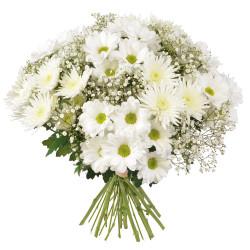 FUNÉRAL FLOWERS ARRANGEMENT - PENSÉE