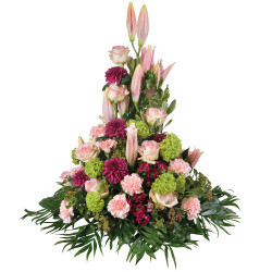 FUNÉRAL FLOWERS ARRANGEMENT - HYMNE