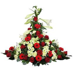 FUNÉRAL FLOWERS ARRANGEMENT - HONNEUR