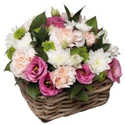 FUNÉRAL FLOWERS ARRANGEMENT - DOUX SENTIMENTS