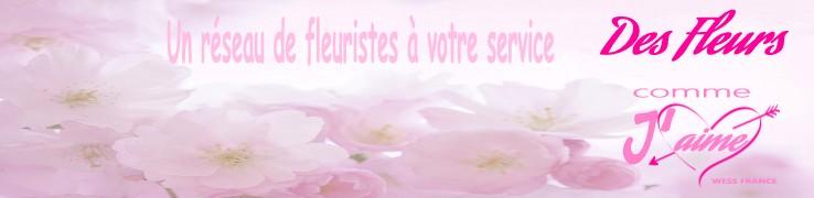 FLEURISTES - Recherche fleuristes par département