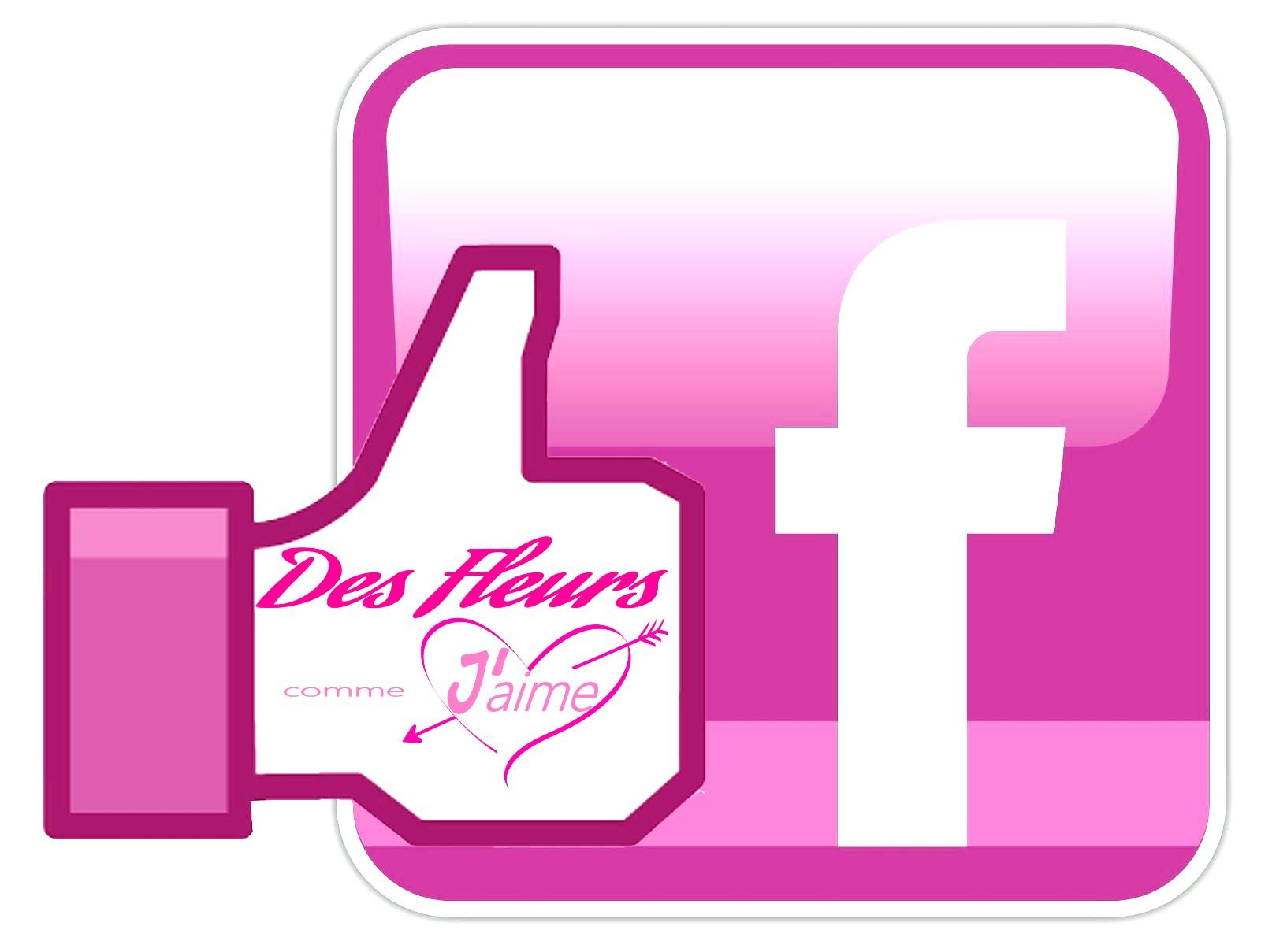 facebook des fleurs comme j'aime