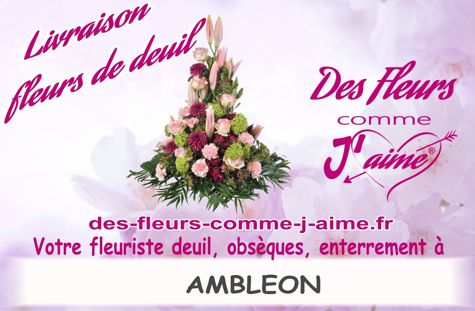 FLEURS DEUIL AMBLEON