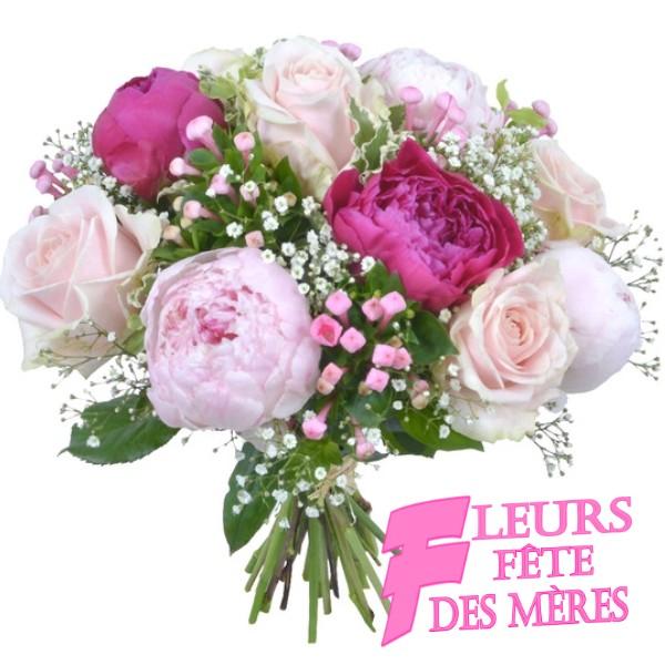 FLEURS FÊTE DES MÈRES - livraison fleurs