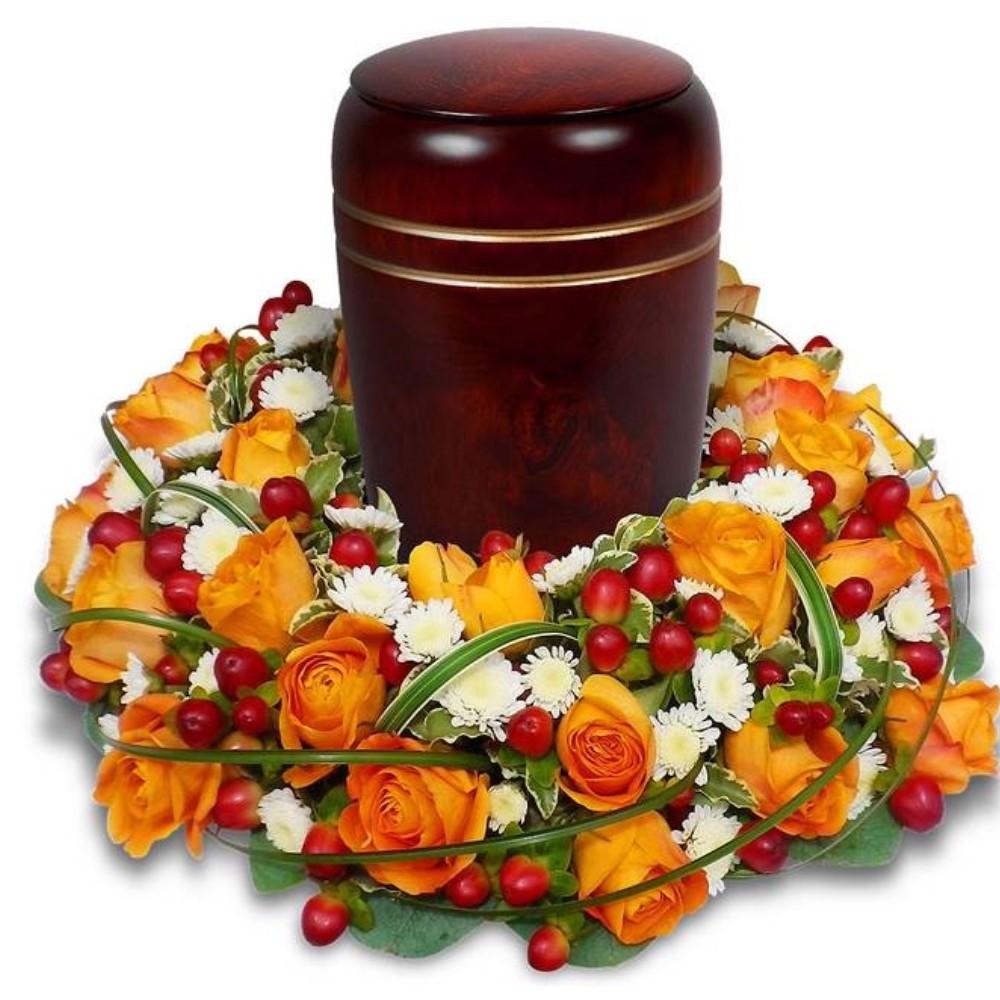 FUNÉRAL ARRANGEMENT FOR CRÉMATION Condolences flowers